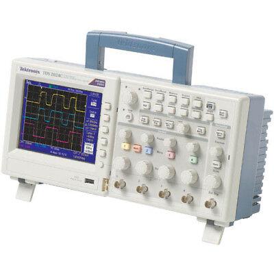 Tektronix Tds2024c 200 Mhz 4-ch 2 Gss Digital Storage Oscilloscope