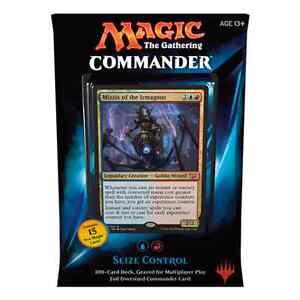 MTG COMMANDER 2015 * Seize Control (Blue/Red) Deck