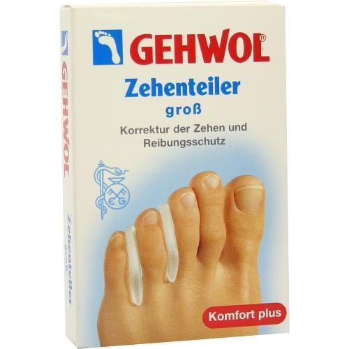 GEHWOL Polymer Gel Zehen Teiler groß 3 St