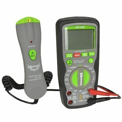 Monster Mobile Mst12005 Trms Automotive Digital Multimeter 1000v 600v Ac Dc
