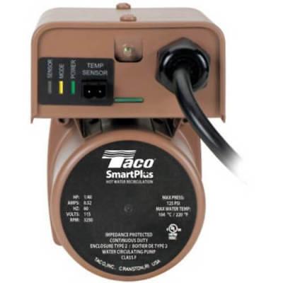 Open Box Taco 006-iqbc4 12 Sweat Bronze Smart Plus Circulator Pump 140 Hp