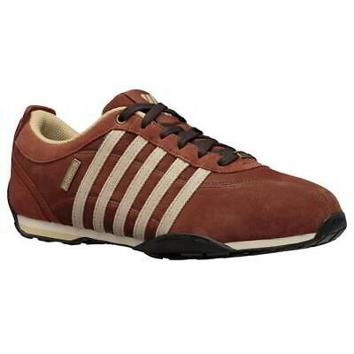 New K Swiss Arvee 1.5 Mens Classic Brown Lace Up Trainers Shoes Size 7-12