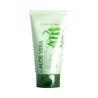 [NATURE REPUBLIC] Soothing & Moisture Aloe Vera Cleansing Gel Cream - 150ml(new)