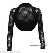 Black Lace Bolero