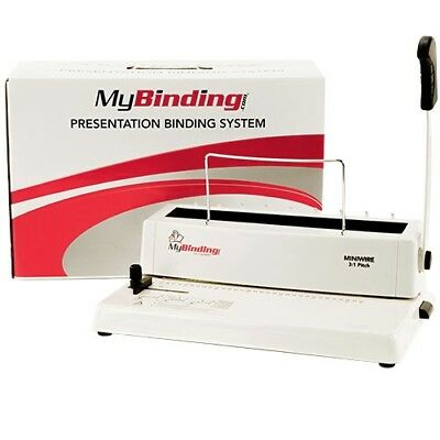 Manual Wire Binding Machine - MINIWIRE Manual 3:1 Pitch Wire Binding Machine