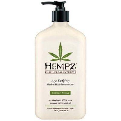Age Defying Moisturizer Lotion (Hempz Lotion Herbal Body moisturizer - Age Defying - 17 fl. oz)