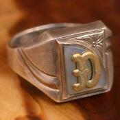 Mens Sterling Silver Rings