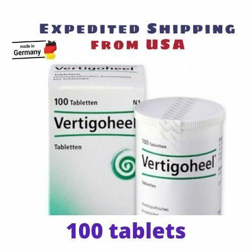 Vertigoheel Homeopathic treat dizziness (100 tablets) -Ships from USA