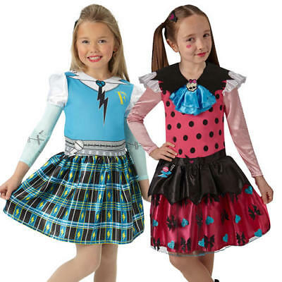 Halloween Classic Cartoons (Monster High Classic Girls Fancy Dress Cartoon Halloween Childrens Kids Costumes)