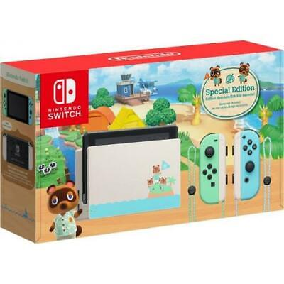 Nintendo Switch Console 32GB Special Animal Crossing: New Horizons Edition