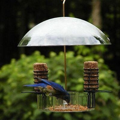 BIRDS CHOICE SUPPER DOME W/ REMOVABLE SUET HOLDERS NP3005 BIRD FEEDER