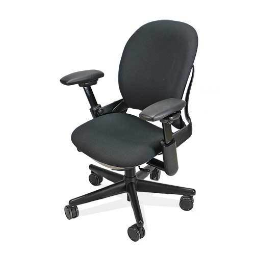 Leap Chair By Steelcase steelcase leap chair in black v1 | ebay