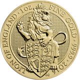 ON SALE! 2016 1 oz British Gold Queen's Beast Coin (BU)