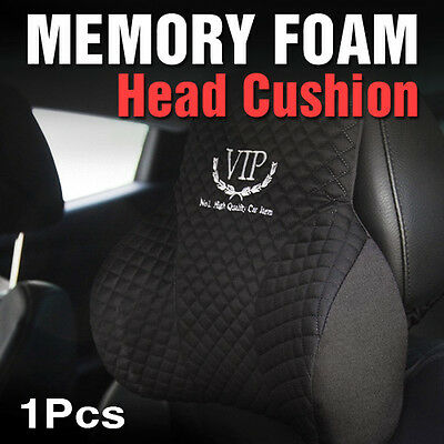 Memory Foam Head Neck Pillow Rest Cushion Black For HONDA 2012-2013 Civic