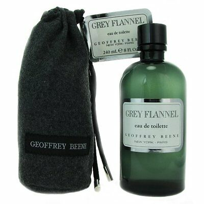 Geoffrey Beene Grey Flannel Eau De Toilette for Men - 8 fl o