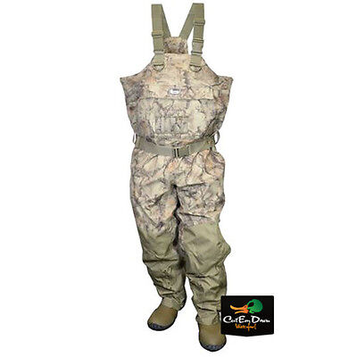 NEW BANDED REDZONE BREATHABLE UNINSULATED CHEST WADERS NATURAL GEAR CAMO SIZE 11