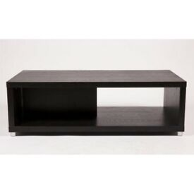 Classico TV Unit Table Stand Dark Brown Living Room Furniture 120 x 60 x 38 cm