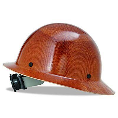 Msa 475407 Natural Tan Skullgard Hard Hat W Fas-trac Suspension Safety