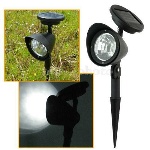 Small Garden Solar Spot Lights: Solar Powered Spot Light