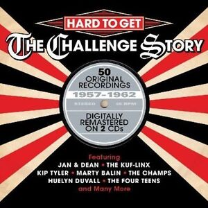 HARD TO GET - THE CHALLENGE STORY 2CD SET - NEW