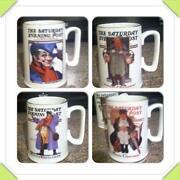 Norman Rockwell Mugs
