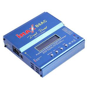 IMAX B6AC RC 12V/220V Balancer 50 Watt LiPo Ladegerät - -Charger B6AC Lipo Lader