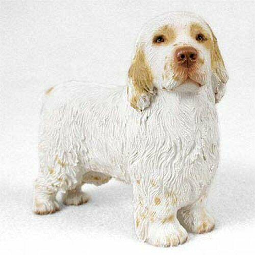 Clumber Spaniel Dog Figurine, Standard Size