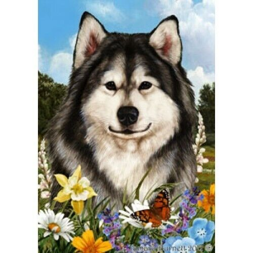 Summer House Flag - Alaskan Malamute 18147