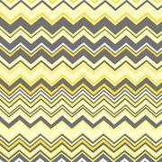 Gray Yellow Fabric