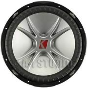 Dual 15 inch Subwoofers