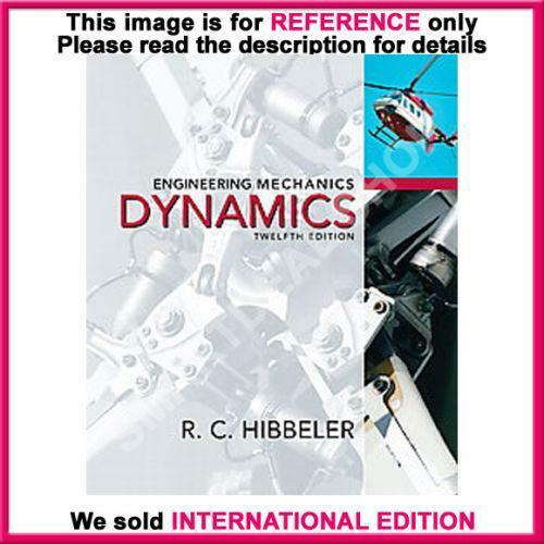 Engineering mechanics dynamics books ebay fandeluxe Images