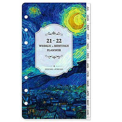 2021-2022 Planner Refill - 2021-2022 Weekly Monthly Planner Refill A6 Plann...