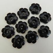 10mm Blue Buttons