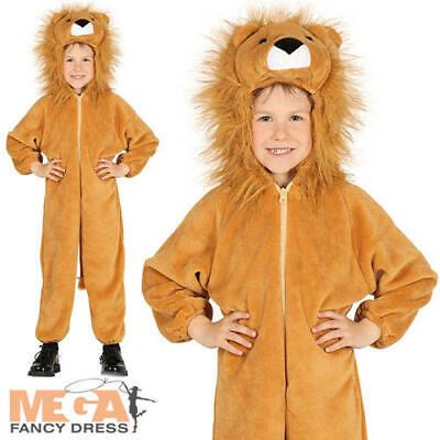 Hulk Girl Costume (Lion Kids Fancy Dress Giant Cat Zoo Animal Boys Girls World Book Day Costume)