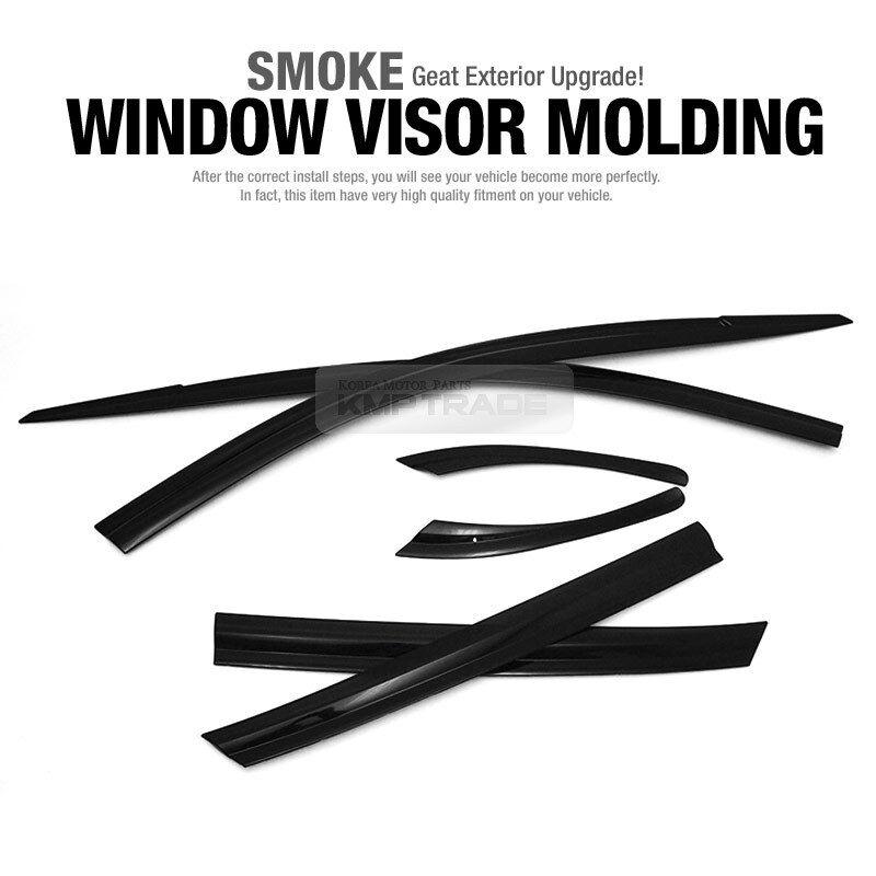 Smoke Window Sun Visor Vent 6p for 2018 2020 Hyundai Kona