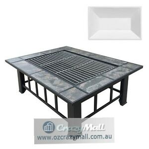3 in 1 Fire Pit BBQ Grill with Ice Tray Sydney City Inner Sydney Preview