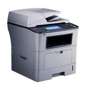 With 2 FREE Toner - ONLY $395 Samsung Printer SCX-5835FN 5835 Monochrome Multifunction Desktop Laser Printer LCD Screen