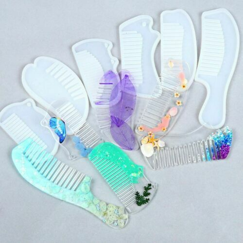 Comb Mould Jewelry Resin Casting Silicone Mold Comb Mould Cr