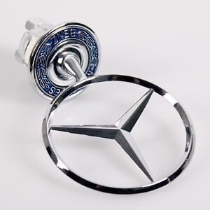 Mercedes emblem ebay for Mercedes benz bonnet badge