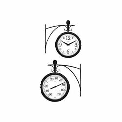 TAYLOR 91572T Outdoor Clock/Thermometer