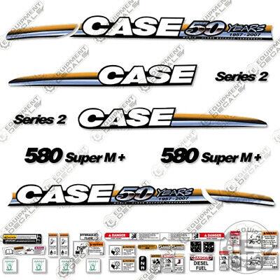 Estuche 580 Super M + Adhesivo Kit Serie 2 Retroexcavadora Loader 50...