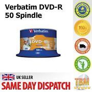 50 Verbatim DVD-R Printable