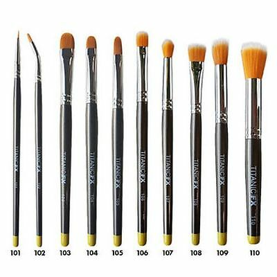 Titanic Pro FX Brush Range SFX Prosthetic Makeup Brushes](Sfx Prosthetics)