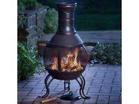Chimenea Outdoor Garden Patio Heater Chimnea Chiminea Cast Iron Wood Burner