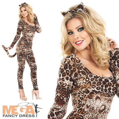 - Sexy Leoparden Catsuit