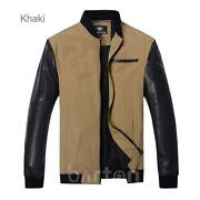 Mens Thin Leather Jacket