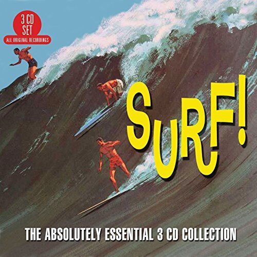 SURF - THE ABSOLUTELY ESSENTIAL COLLECTION - VARIOUS: 3CD ALBUM SET (2/10/2015)