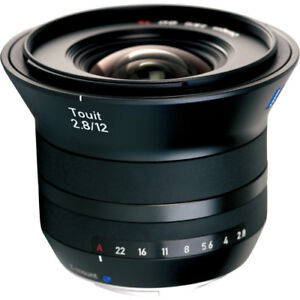 Object Zeiss 12 f/2.8 pour fuji