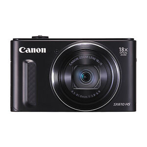 Canon-PowerShot-SX610-20-2MP-Digital-Camera-18x-Optical-Zoom-Wi-Fi-NFC-Black