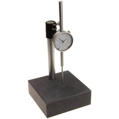 Granite Check Stand Surface Plate 6x6x2 W 2 Travel Dial Indicator Gauge